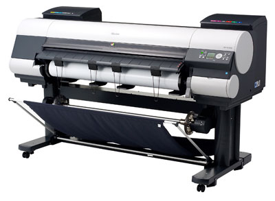 canon iPF 8100 printer at OracleUK
